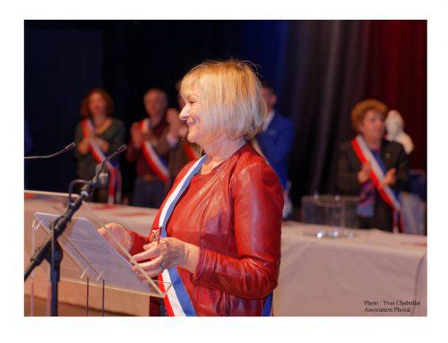 Christine Capdeville, maire de La Penne sur Huveaune