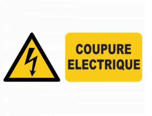 Coupures d'électricité