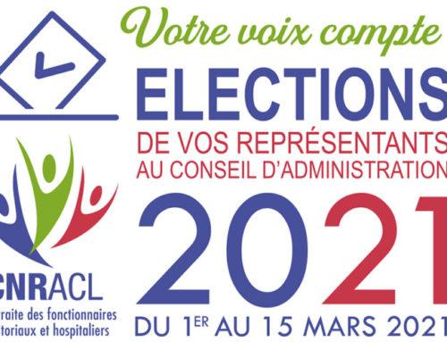 Elections Caisse Nationale de Retraites des Agents des Collectivités Territoriales